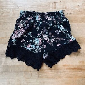 🆕 LF / Seek The Label Floral Shorts Small